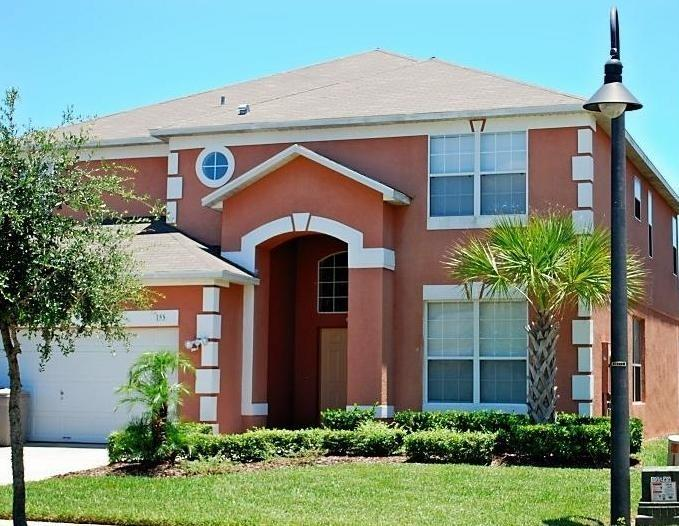 villa front - 6BR-4 Master- Pool- Spa-Game Rm-Wifi-Near Disney - Kissimmee - rentals
