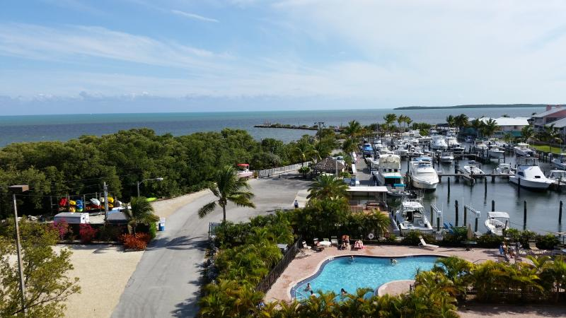 View front the Balcony - Key Largo Oceanfront Condo with Spectacular views - Key Largo - rentals