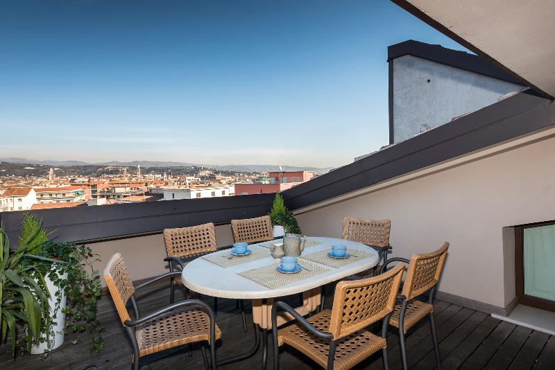 Terrazza-terrace - Panorama Apartment-stunning view over Verona - Verona - rentals