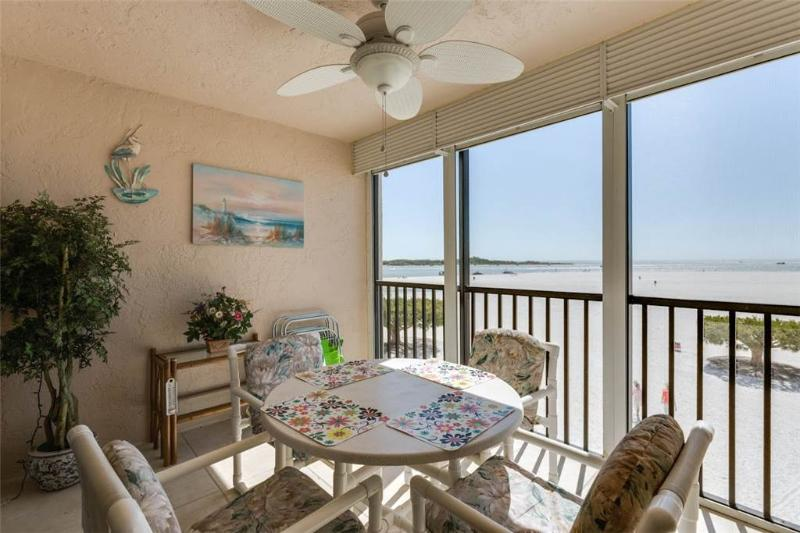 Carlos Pointe 213, 2 Bedrooms, Gulf Front, Elevator, Heated Pool, Sleeps 4 - Image 1 - Fort Myers Beach - rentals