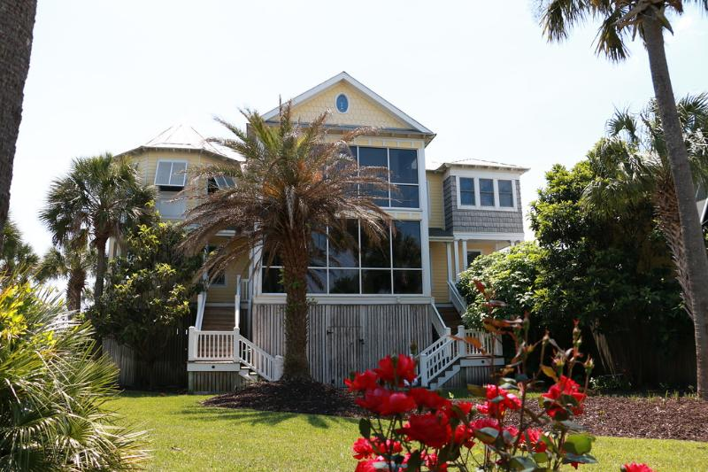 Front Exterior - Incredible Ocean Front Views with Pool House - Isle of Palms - rentals