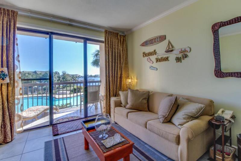 Cozy studio w/ shared pool & lovely bay views. Beach nearby, Snowbirds welcome! - Image 1 - Fort Walton Beach - rentals