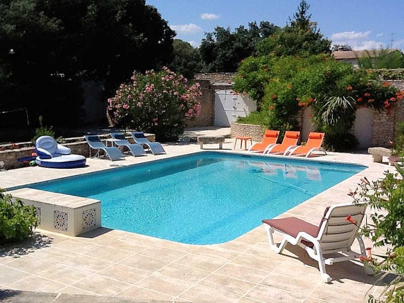 Boissières Gard, Andalusian-style Villa 12p. private pool, 15 km to Nîmes - Image 1 - Nages-et-Solorgues - rentals