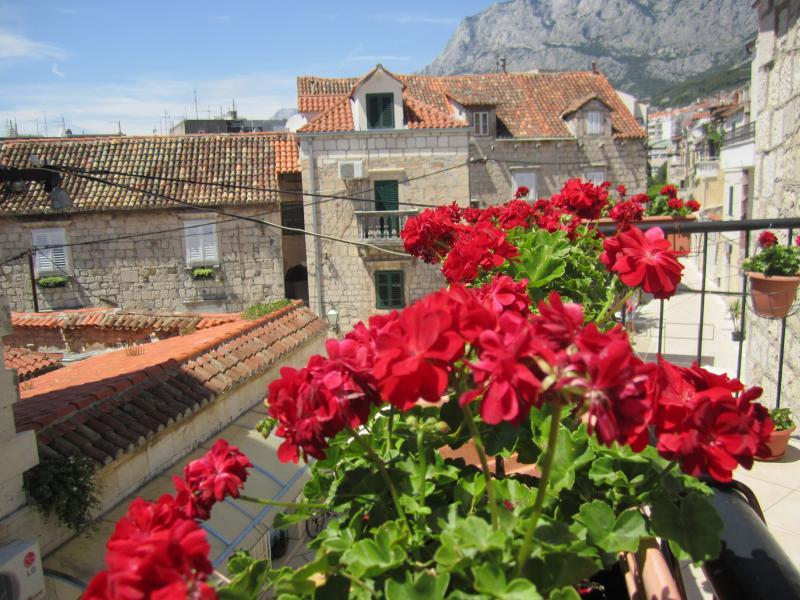 Balcony view - Old Town House, center - Makarska - rentals