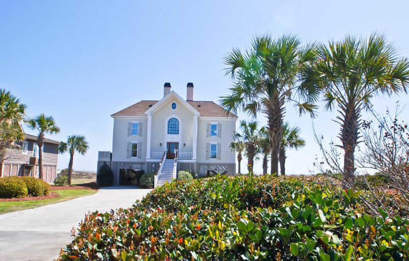 Front Exterior - Fall Disc for stays Now thru 10/14/16~312 Ocean - Isle of Palms - rentals