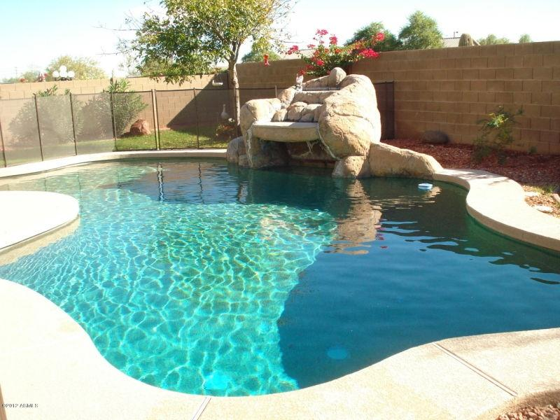 Pebble Tech pool with waterfall. - Sunny and warm winters in Litchfield Park,  AZ - Litchfield Park - rentals