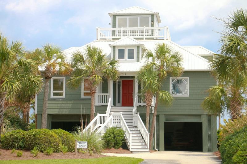 Front Exterior - Perfect Ocean Front Vacation Home - Isle of Palms - rentals