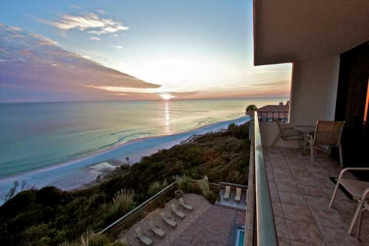 Amazing Sunrise Views from the Balcony - 508 One Seagrove Place ~ 2BR/2BA Condo Gulf Views ~ Corner Unit - POOL HEAT! - Seagrove Beach - rentals
