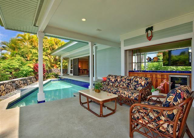 Private Pool and Lanai - Hale Kehau 3 Bed, Private Home with Incredible Ocean Views in Gated Community - Kailua-Kona - rentals