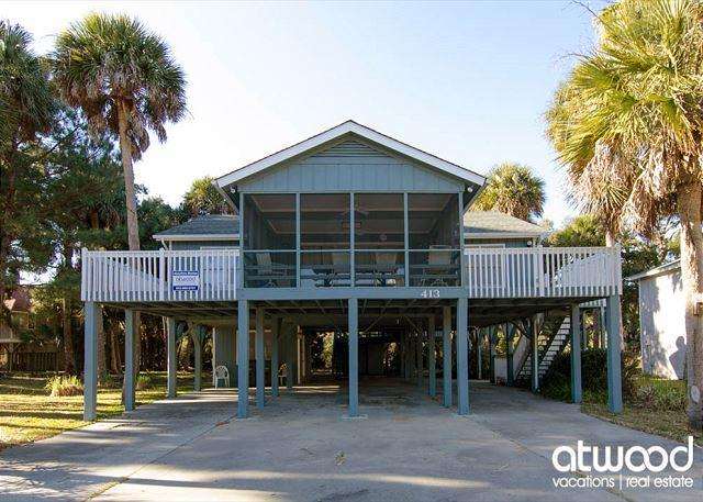 Pompano Crab Inn - Well Maintained Beach Walk Home - 4BR/2BA - Image 1 - Edisto Island - rentals