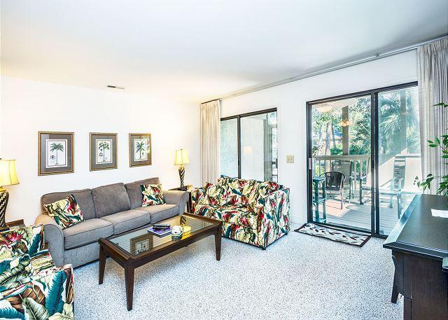 Sit down and relax - Tennismaster 704, 2 Bedrooms, Pool, Tennis, Walk to Beach, Sleeps 6 - Forest Beach - rentals