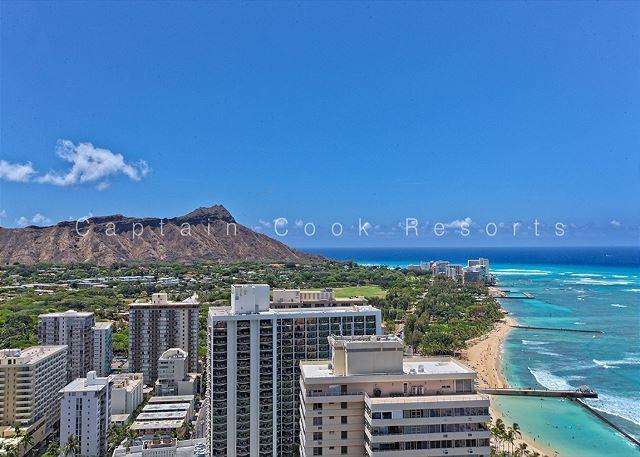 Spectacular Diamond Head and Ocean Views!  Free Parking! - Image 1 - Waikiki - rentals