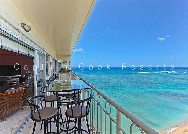 14th floor with Million Dollar Ocean Views, AC, FREE parking and WiFi! - Image 1 - Waikiki - rentals