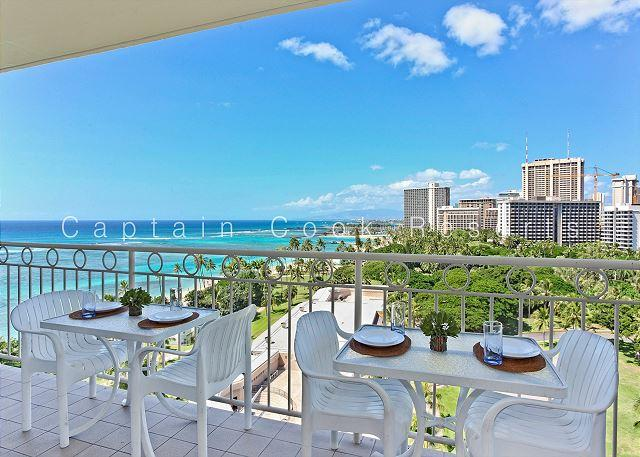 Million Dollar Ocean Views plus FREE Secure Onsite Parking and WIFI! - Image 1 - Waikiki - rentals