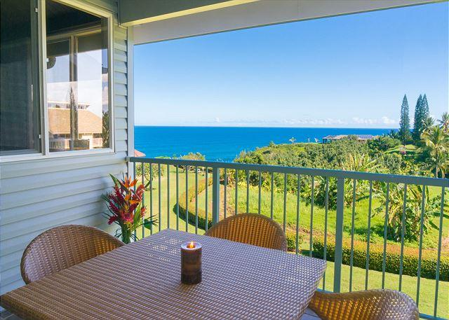 Cliffs 7303: Spacious 1br + loft, great resort amenities, VIEW!  Sleeps 6. - Image 1 - Princeville - rentals