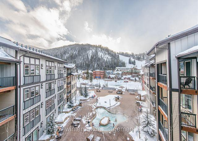 Walk to the slopes from this Founders Point 2 bedroom with AWESOME views! - Image 1 - Winter Park - rentals