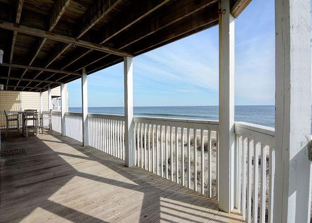 Ocean Dunes 1806 - Open oceanfront three bedroom condo with great views - Image 1 - Kure Beach - rentals