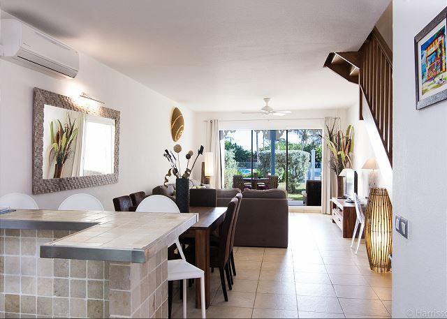 Beachfront Two Bedroom Condo in Orient Beach ** New Owner ** REVAMPED 2016 ** - Image 1 - Orient Bay - rentals
