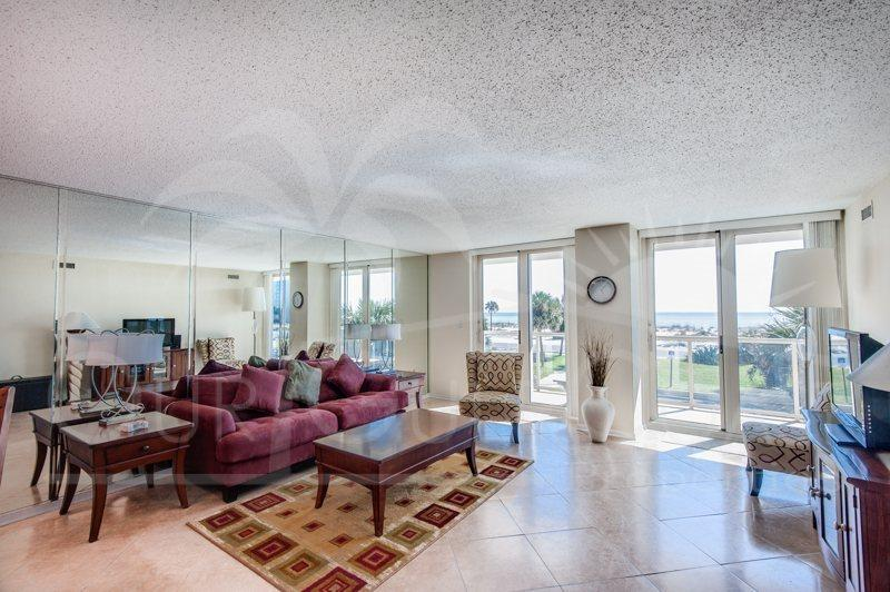 Contemporary & Cozy with a Gulf View, Centrally Located! - Image 1 - Pensacola Beach - rentals