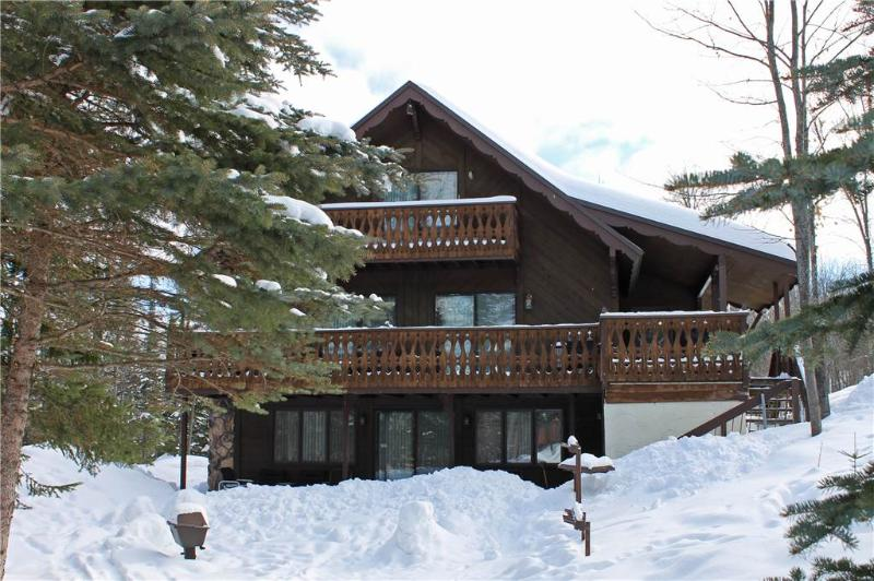 Located at Base of Powderhorn Mtn in the Western Upper Peninsula, A Large Trailside Home with 2 Large Fireplaces - Image 1 - Ironwood - rentals