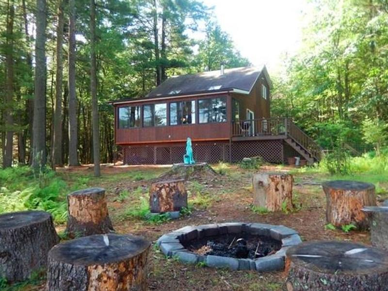 Secluded Lakehouse Retreat: - Image 1 - Forestburgh - rentals