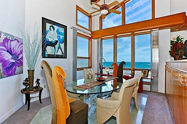 Dining area with amazing ocean view - Shangri La By The Sea - Stunning views with pool - Kailua - rentals
