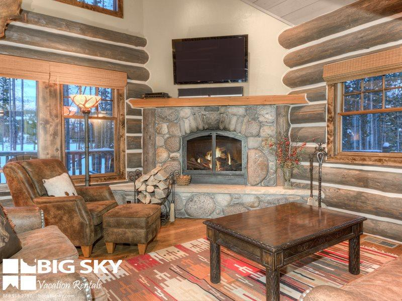 Big Sky Resort | Powder Ridge Cabin 1 Manitou - Image 1 - Big Sky - rentals