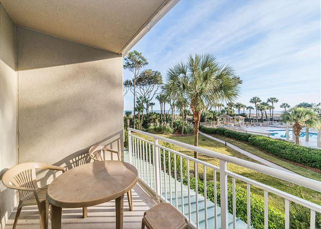 Hampton 6107, Oceanfront View, 2 Bedroom, Large Pool, Sleeps 6 - Image 1 - Hilton Head - rentals