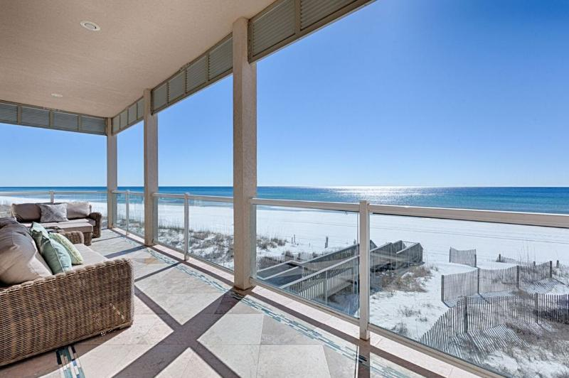 Stunning Views from the Second Floor Balcony - The Magnificat! BEACH FRONT LUXURY HOME! - Miramar Beach - rentals