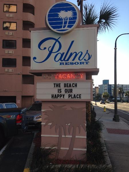 "Welcome to your ""happy"" place! - Excellent oceanfront one bedroom condo- sleeps 4! - Myrtle Beach - rentals"