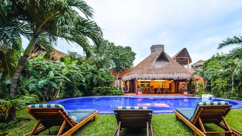 Villa Laguna Encantada Poolside View - Villa Laguna Encantada, Up to 18 guests Akumal - Akumal - rentals