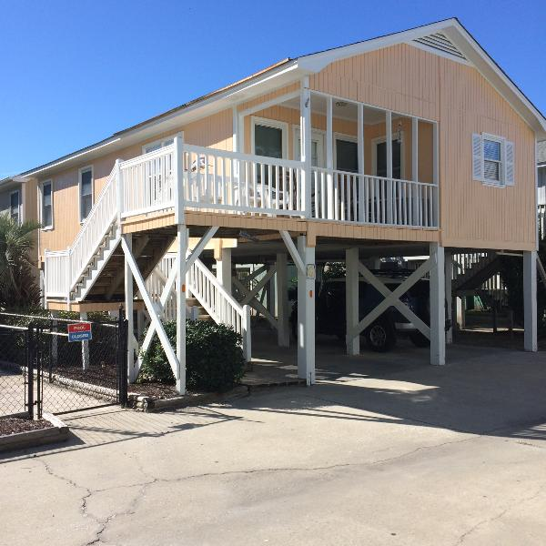 SeaLaView Oceanview, 2nd row, pool - SeaLaVie 2BR/2BA Oceanview raised house sleeps 8 - Garden City Beach - rentals