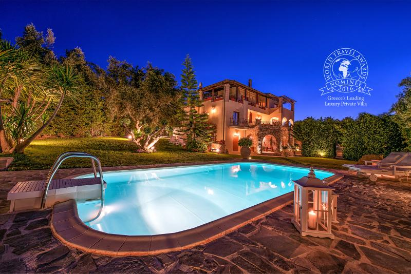 Nominee for World Travel Awards in Greece's Leading Luxury Private Villa 2016 - Bozonos Luxury Villa & Spa - Zakynthos - rentals