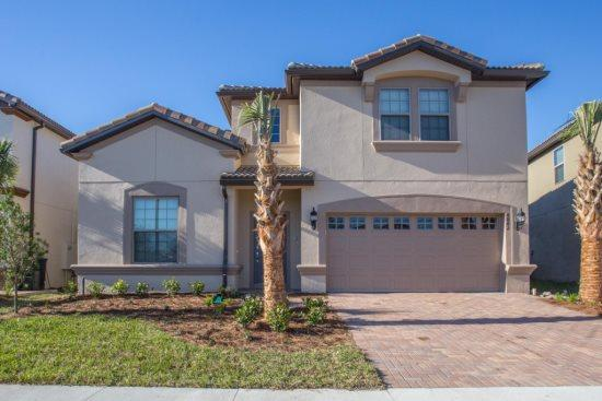Luxurious 8 Bedroom Pool Home In Brand New Resort. 8882ML - Image 1 - Orlando - rentals