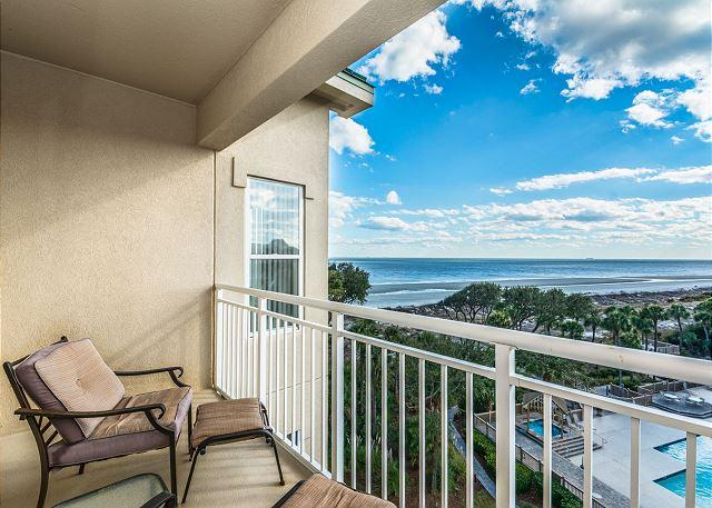 Views - Hampton 6508, 3 Bedroom, Ocean Front View, Ocean Pool & Hot Tub, Sleeps 6 - Hilton Head - rentals