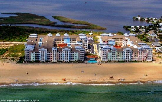 Waterside B 111 *Direct Oceanfront with BIG corner wrap-around balcony!* - Image 1 - Virginia Beach - rentals