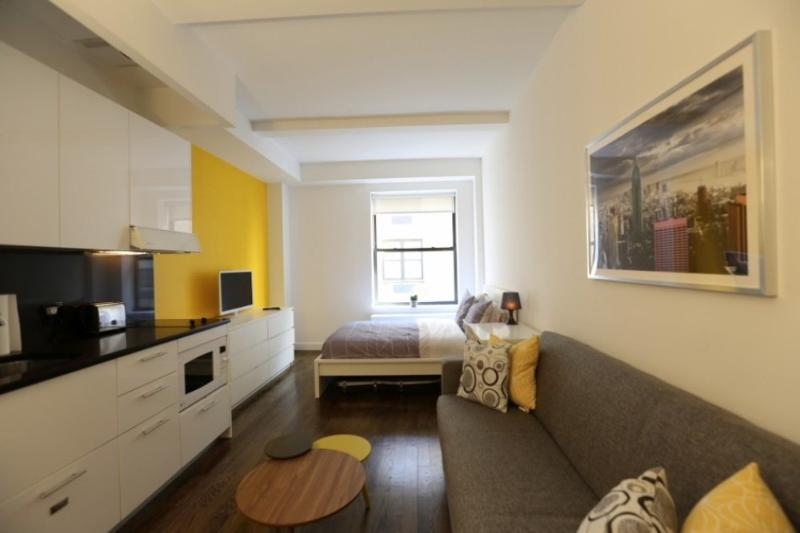 Location Wise and Sleek Furnished Studio Apartment in New York - Image 1 - New York City - rentals