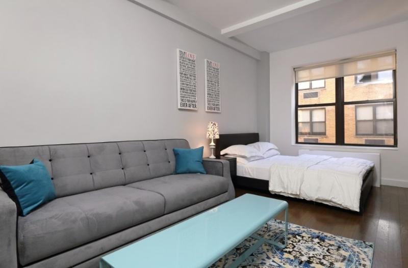 Modern Studio Apartment in New York - Tastefully Furnished, High Ceilings - Image 1 - New York City - rentals