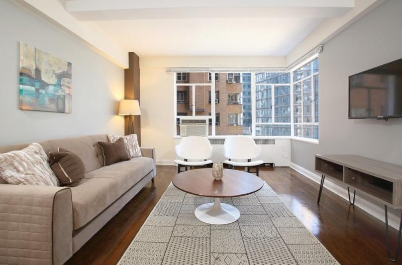 Sleek and Large Studio Apartment - Near Central Park - Image 1 - New York City - rentals