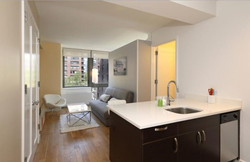 Great Amenities - Sleek Studio Converted to a 1 Bedroom Apartment in New York - Image 1 - New York City - rentals