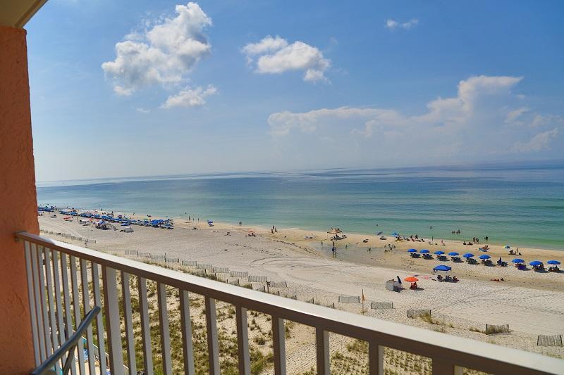 Gulf front view - Seacrest 704 - Gulf Front - Gulf Shores - rentals