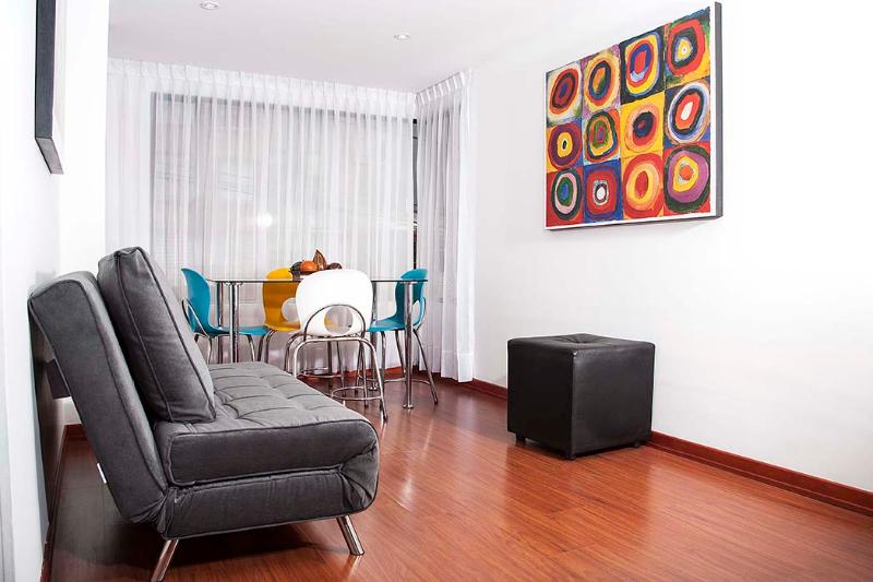 Colorful 2 Bedroom Apartment in Chapinero Alto - Image 1 - Bogota - rentals