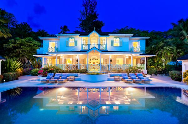 Overlookin the 6th hole of a golf course with contemporary interior design. AA MDA - Image 1 - Barbados - rentals