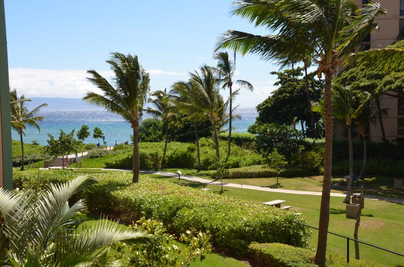 View from the lanai - Honua Kai!  HUGE 1 BED (248) - Ka'anapali - rentals