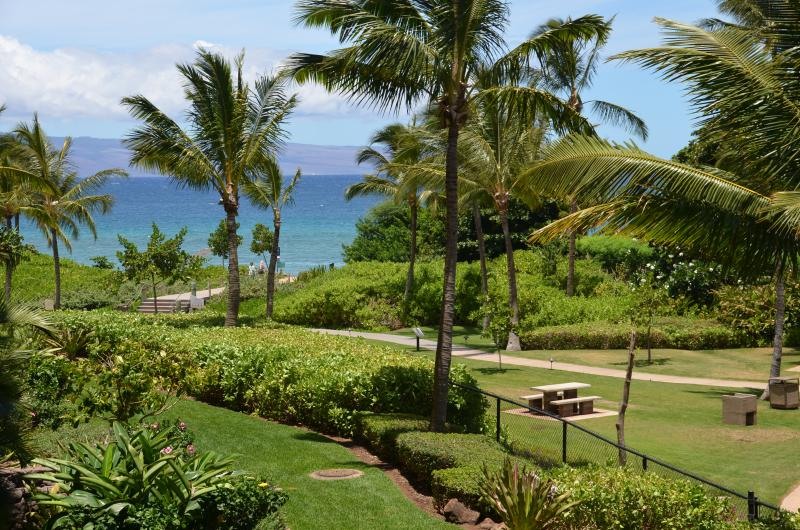 View from the lanai - Honua Kai! HUGE 1 BED (244) - Ka'anapali - rentals