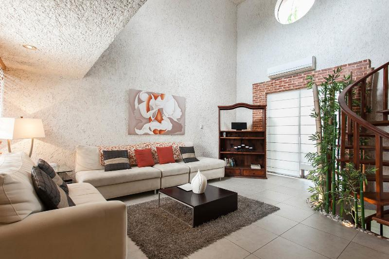 Living Room - Luxury Residence!! Hotel Zone- beach access - Cancun - rentals