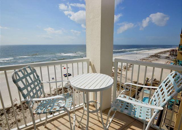Balcony - Island Tower 803 ~ Floor to Ceiling Views ~ Bender Vacation Rentals - Gulf Shores - rentals