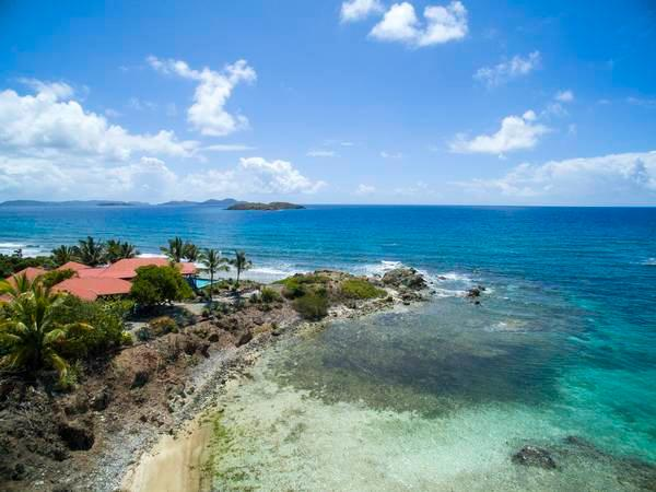 Coral Cove: Waterfront! Views of the BVI! - Image 1 - Saint John - rentals