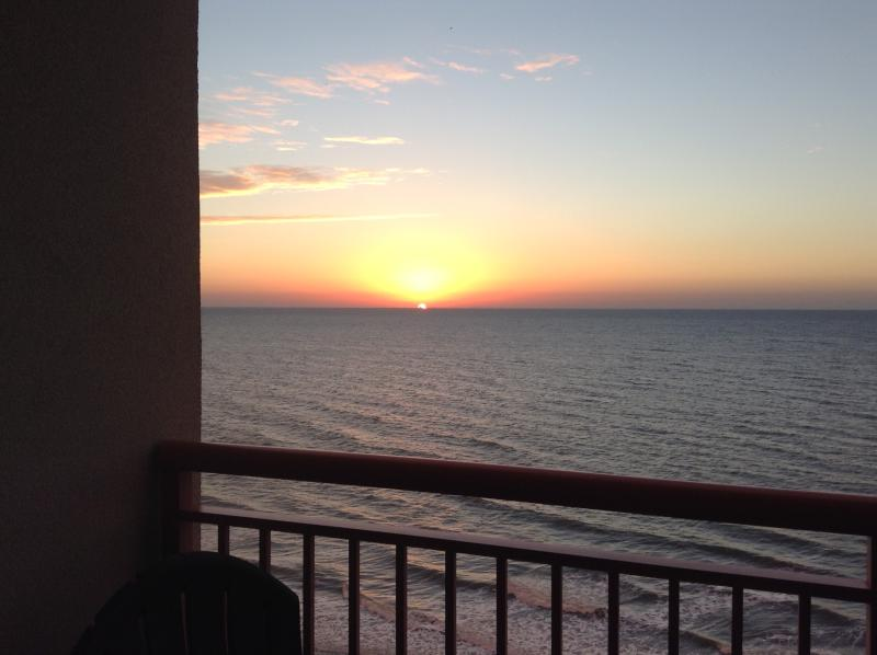 Wake up everyday to this beautiful sunrise while drinking your first cup of coffee - Very clean! Oceanfront 26' Balcony! Wow! - Myrtle Beach - rentals