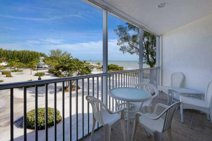 Great View from the Lanai - Kimball Lodge - 305 - At The Historic Island Inn!!! - Only 100 Yards to the Beach! - Sanibel Island - rentals